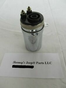 FITS ARMY JEEP 24 VOLT COIL WILLYS M38 M38A1 M170 M715 M151 DODGE M37 NEW!
