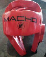 MARTIAL ARTS MACHO Sparring Head Gear Taekwondo Karate TKD MMA Boxing Youth