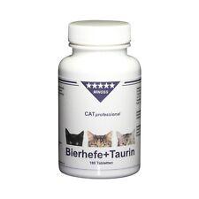 CAT professional Hefe + Taurin - Reines Naturprodukt - 180 Tabletten Katzen Tabs