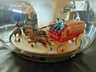 Rare Original Working 1960's Budweiser Beer Clydesdale Carousel Rotating Light