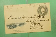 DR WHO 1898 ARGENTINA POSTAL CARD TO TIGRE  g10442