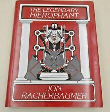 The legendary Hieropjant, Jon Rachenbaumer, D. Robbins, 400 SEiten, englisch