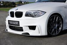 Rieger Spoilersto?stange Sch?rze f?r BMW 1er E82/E87 M1-Look NEU / RIEGER-Tuning