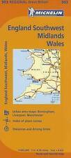 Michelin Map Great Britain: Wales, The Midlands, South West England 503 (Maps/Re
