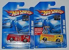 2008 HOT WHEELS RLC FACTORY SET ALL STARS FIRE EATER BOTH COLORS