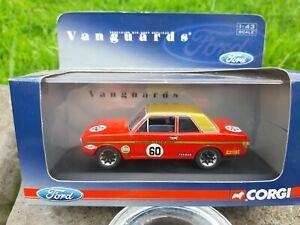 Corgi Vanguards 1:43 VA04110 Ford Lotus Cortina MK II Alan Mann racing