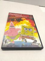 SpongeBob SquarePants Movie (Sony PlayStation 2, 2004). CIB Tested GREATEST HITS