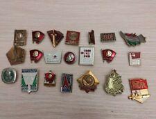 Badges comunism lenin Russia political badge medal USSR
