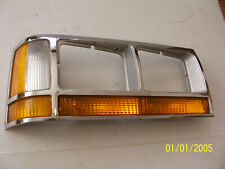 1989 1990 CROWN VICTORIA RIGHT MARKER LIGHT TRIM BEZEL OEM USED COUNTRY SQUIRE
