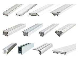LED Alu Profil Aluprofil Schiene Aluminium Strip Streifen Lichtband