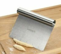 Stainless Steel Scraper Chopper Dough Scraper Pizza Cutter Slicer Kitchen Tools