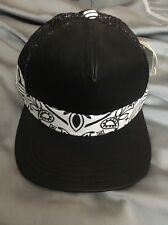 Men's Wiz Khalifa Flat Fitty Bandana Tie Back Hat