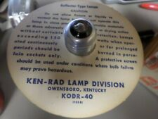 New Old Stock KEN-RAD 300w Flood Lamp Reflector bulb KODR-40