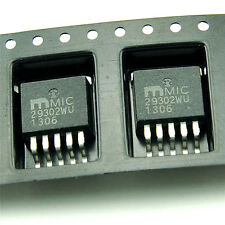 2PCS MIC29302 MIC29302WU IC REG LDO ADJ 3A TO263-5 MIC29302 Positive Adjustable
