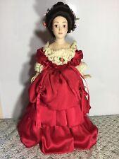 Joanna - Franklin Mint Heirloom Porcelain Doll - Blue Danube Waltz 44cm Tall