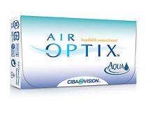 Air Optix Aqua 6 Stück Neu Alle Stärken erhältlich auf Lager