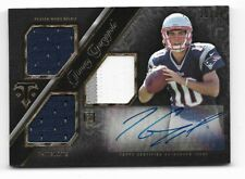 JIMMY GAROPPOLO 14 TOPPS TRIPLE THREADS AUTO AUTOGRAPH PATCH JERSEY ROOKIE RC #D