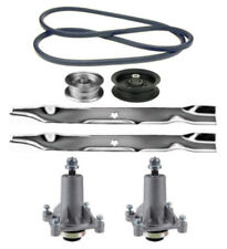 "Sears Craftsman DYS 4500 42"" Mower Deck Parts Kit Spindles Blades Belt Idlers"