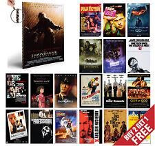 IMDB TOP 1to50 MOVIE POSTERS A4 Photo Print Film Cinema Home Wall Room Decor Art