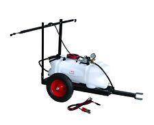 *VIC PICKUP 12V 60L ATV GARDEN TOW BEHIND BOOM WEED SPRAYER TANK TRAILER