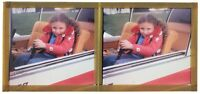 Aereo Ragazzina Foto snapshot Amateur C6 Placca Da Lente Stereo Colore 6x13 CM
