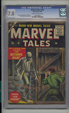 Marvel Tales 139 CGC 7.0 FN/VF Unrestored Marvel PCH Pre Code Horror CR/OW Pages