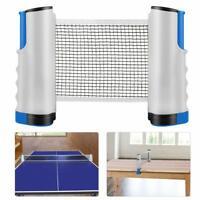 Tischtennisnetz Ping Pong Netz ausziehbar Tischtennis Netz Draussen