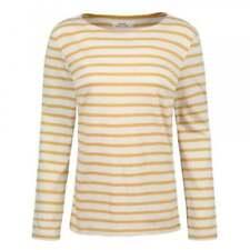 Camicia da donna in cotone giallo