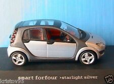 SMART FORFOUR 1.5 2003 SILVER ANTHRACITE SCHUCO 1/43 STAR LIGHT