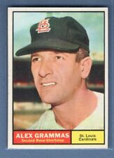 1961 Topps #64 Alex Grammas(1) NM GO220