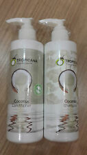 TROPICANA Coconut Oil Shampoo + Conditioner Coconut Odor for Damaged Hair