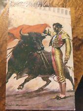 """Mexican Art Postcard   """"Joaquin Rodriguez"""" Cagancho   Beautiful Card"""