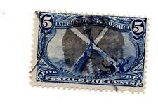 ETATS UNIS 5 CENTS 5 1898 JOHN CHARLES ROCKY MOUNTAIN SC 288