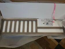 Sorelle Furniture Toddler Rail 136-Stone Gray