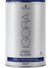 Igora Vario Blond 15.9 oz 450 g Schwarzkopf Plus up to 7 levels of lift Sealed