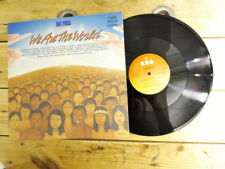 USA FOR AFRICA WE ARE THE WORLD MAXI 45 NO LP VINYLE 33T EX COVER EX 1985