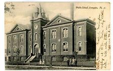 Irvington NJ -PUBLIC SCHOOL BUILDING- Postcard