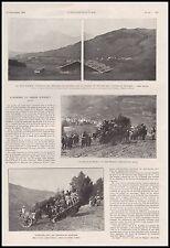 Doc.Ancien Alpinisme et Char d'Assaut Caterpillar  au MONT D'ARBOIS 1919 -3i