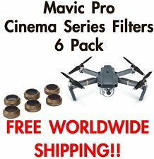 PolarPro Cinema Series Filter For DJI Mavic Pro 6 Pack -Free Shipping
