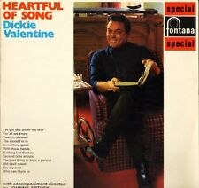 DICKIE VALENTINE heartful of song SFL 13132 uk fontana LP PS EX/EX