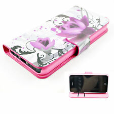 Magnetic Flip Wallet PU Leather Cover Case Accessories For Apple iPhone 5 5S 5G