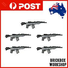 CUSTOM Bricks RIFLES 5PCS For Toy blocks Minifigures A11