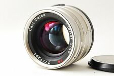 Exc+++ Contax Carl Zeiss Planar 45mm f/2 T* Lens For G1 G2 from Japan  #0404A