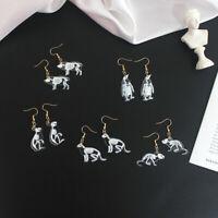 Dangle Tiere Acryl Katze Pinguin Skelett Geschenke Schmuck Für Frauen Ohrringe