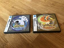 Pokemon Soul Silver And Heart Gold Nintendo DS Games Tested Working L@@K ES