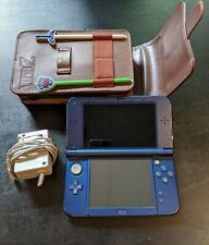 New Nintendo 3DS XL Galaxy Style 1GB Handheld Console with Case & AC Adapter