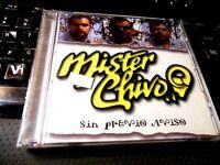 Sin Previo Aviso by Mr. Chivo (CD, May-2002, WEA Latina) NEW Latin