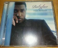 BABYFACE   ---  COOL IN LOVE ---   RARE INDIE R&B CD ALBUM