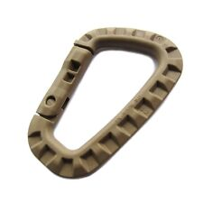 X1 ITW Ghillie-tex Tac Link Taclink Carabiner Coyote Tan Webbing FREE Shipping