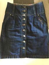 Above Knee Denim Petite Skirts for Women